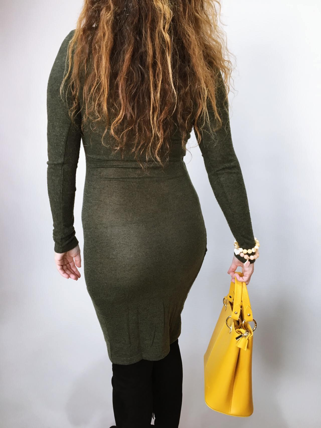 Šaty Lisa khaki 06
