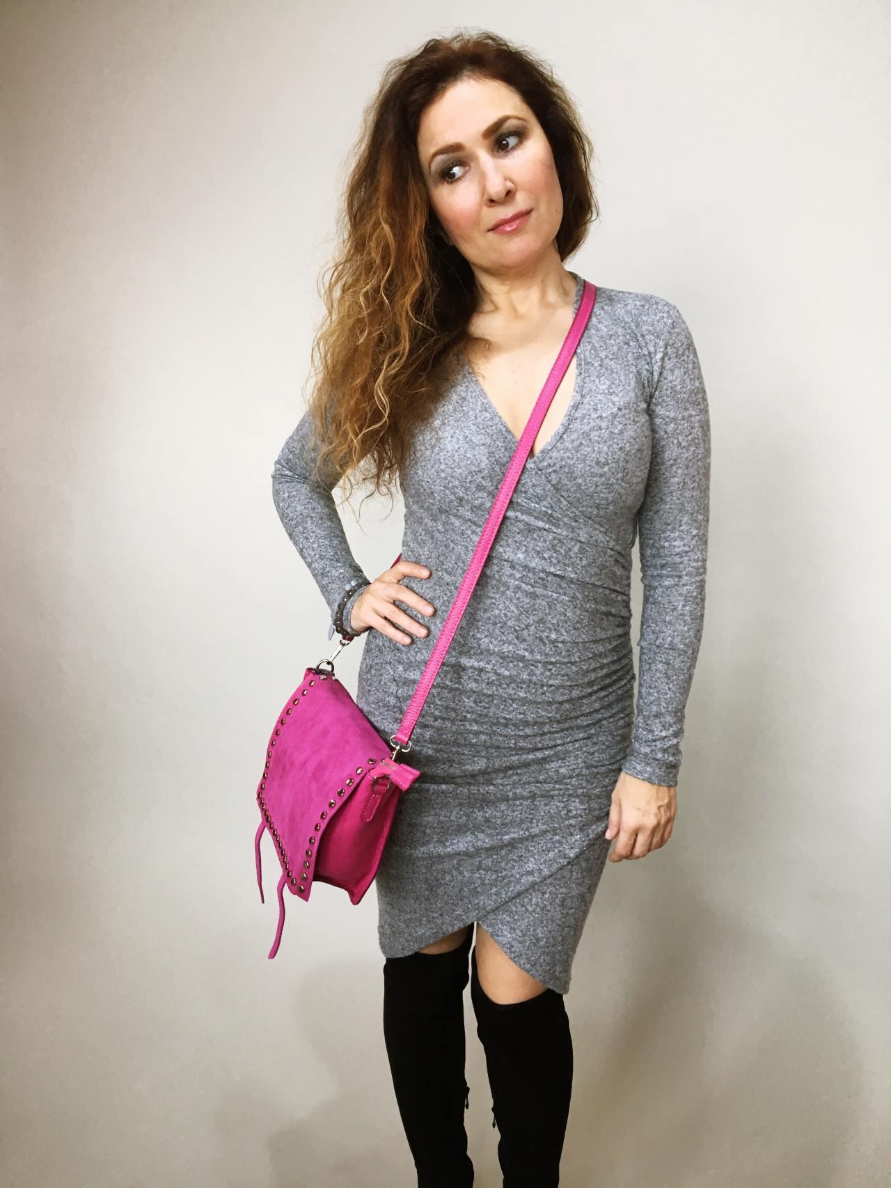 Šaty Lisa šedé 02