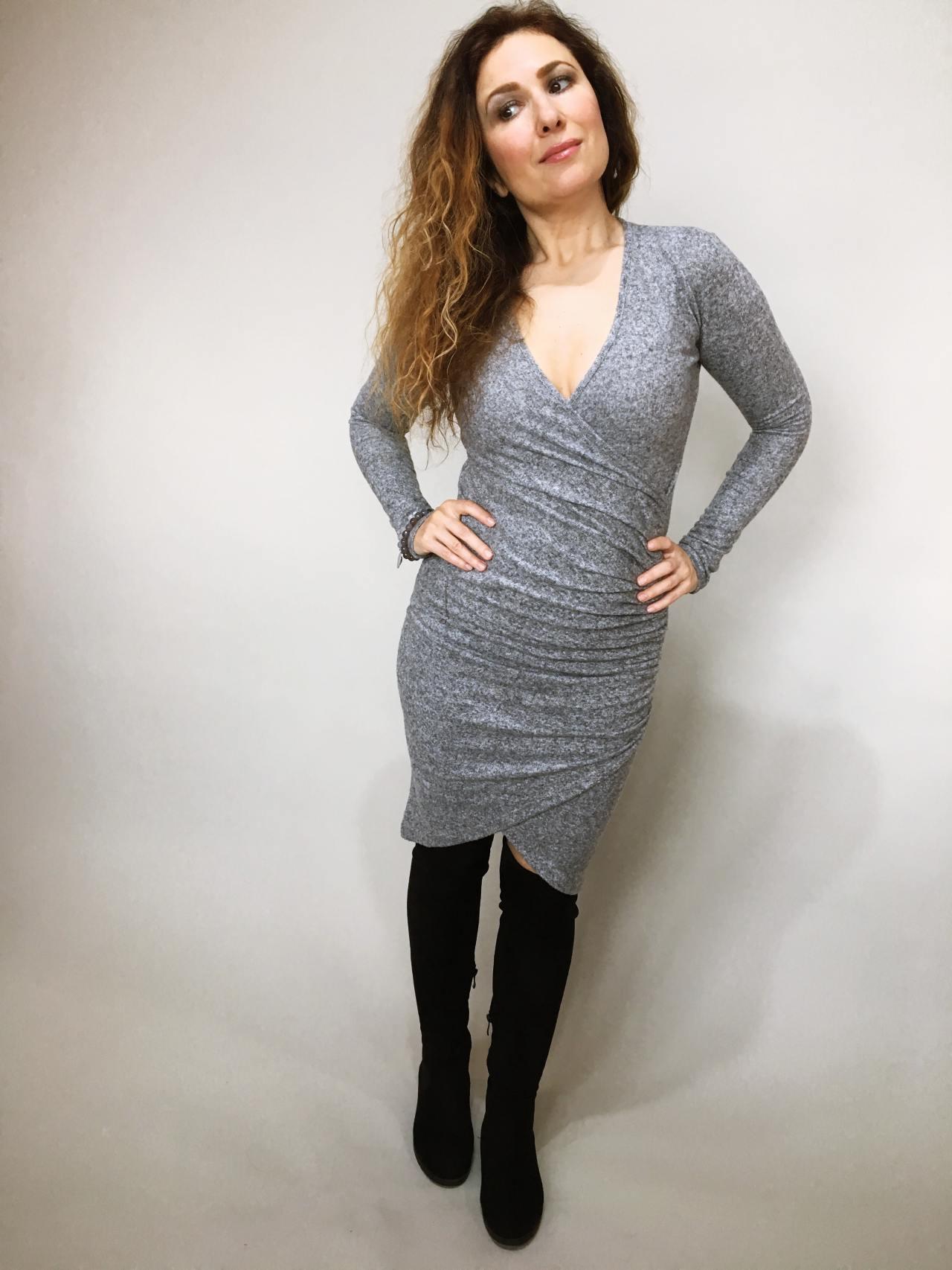 Šaty Lisa šedé 07