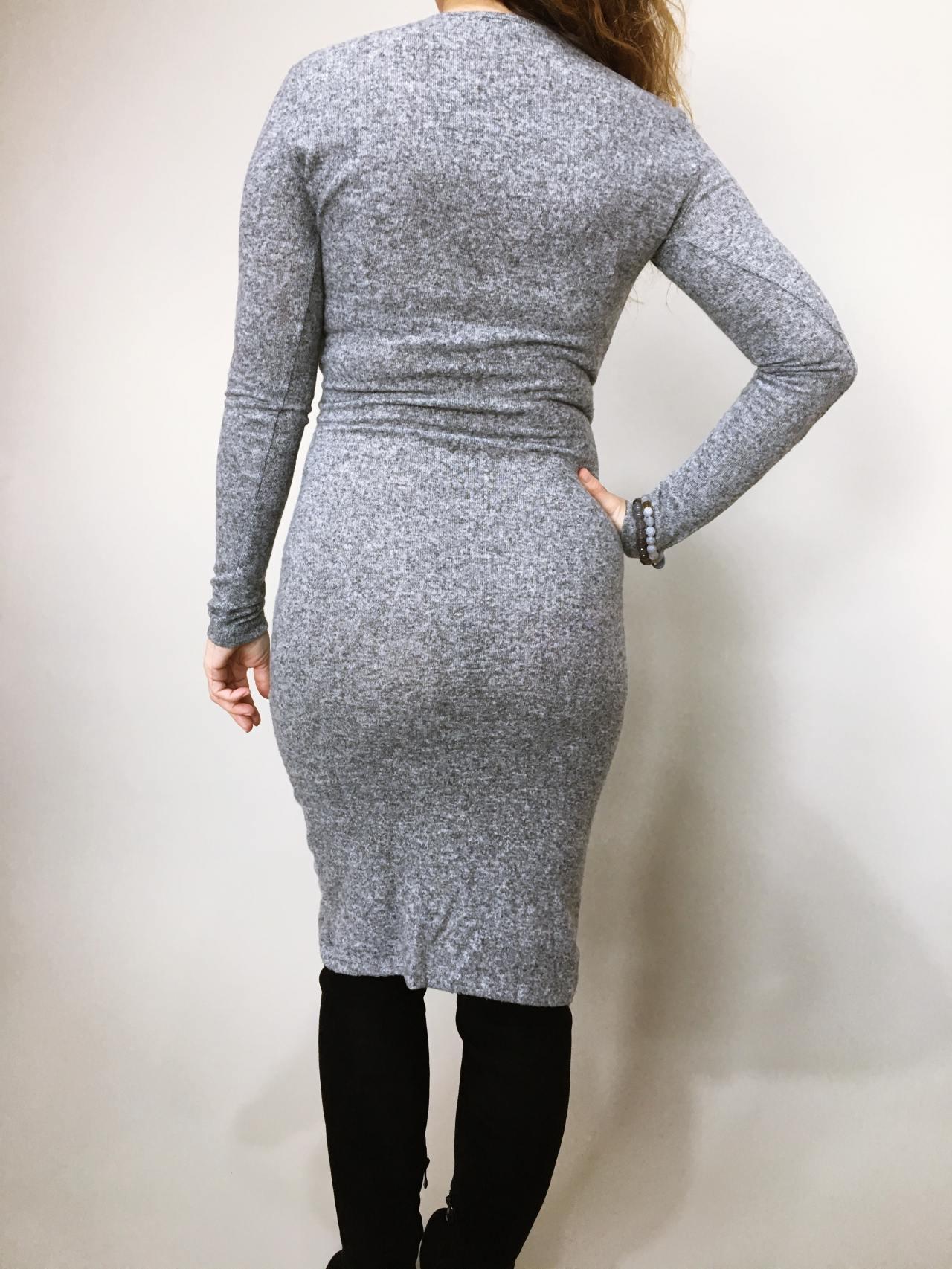 Šaty Lisa šedé 08