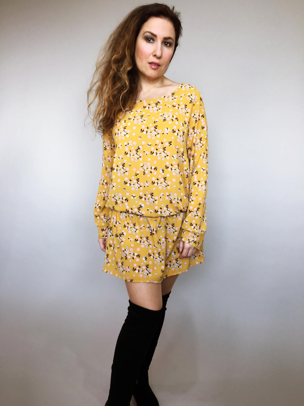 Šaty Lucy žluté 01