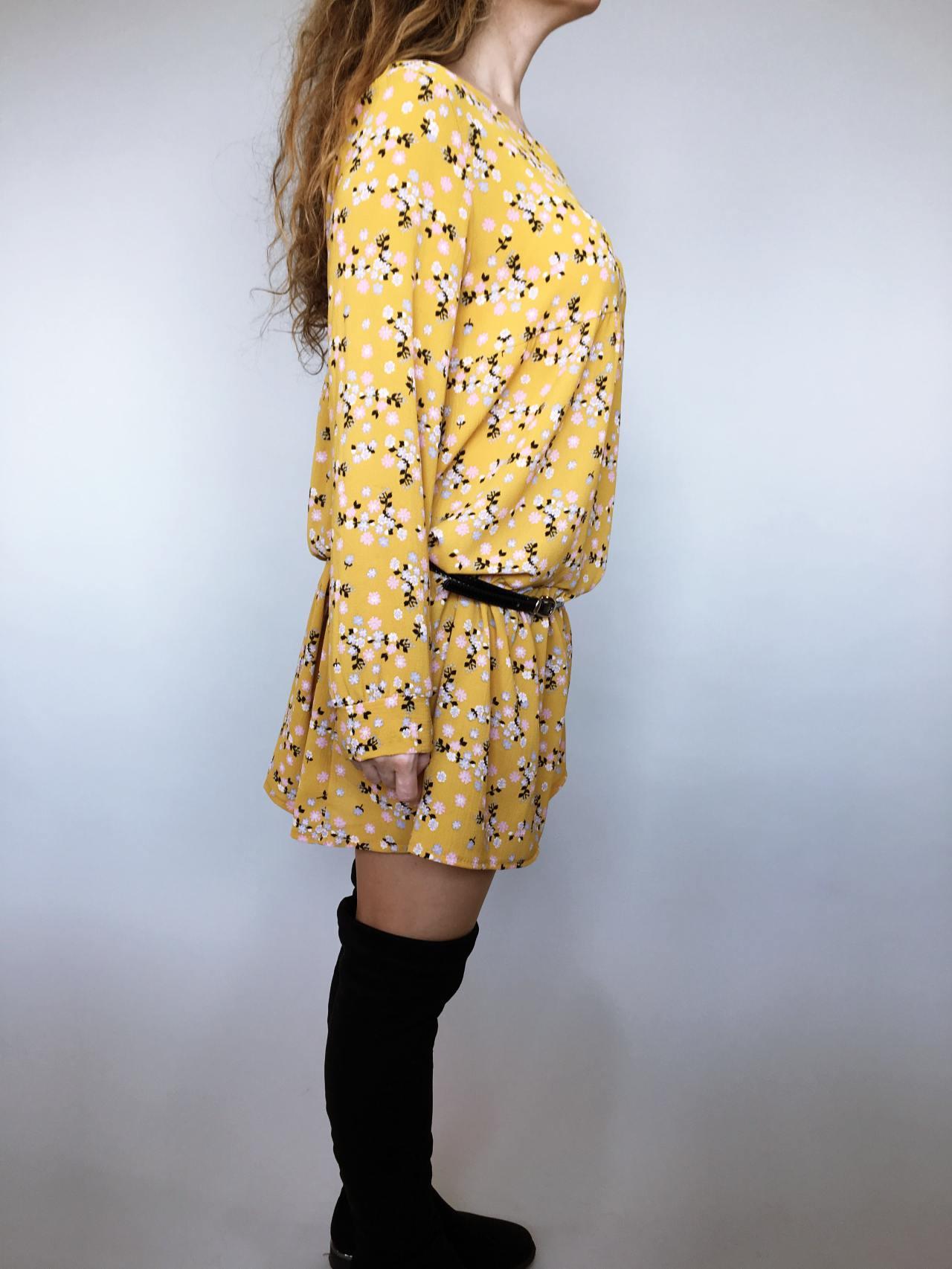 Šaty Lucy žluté 03