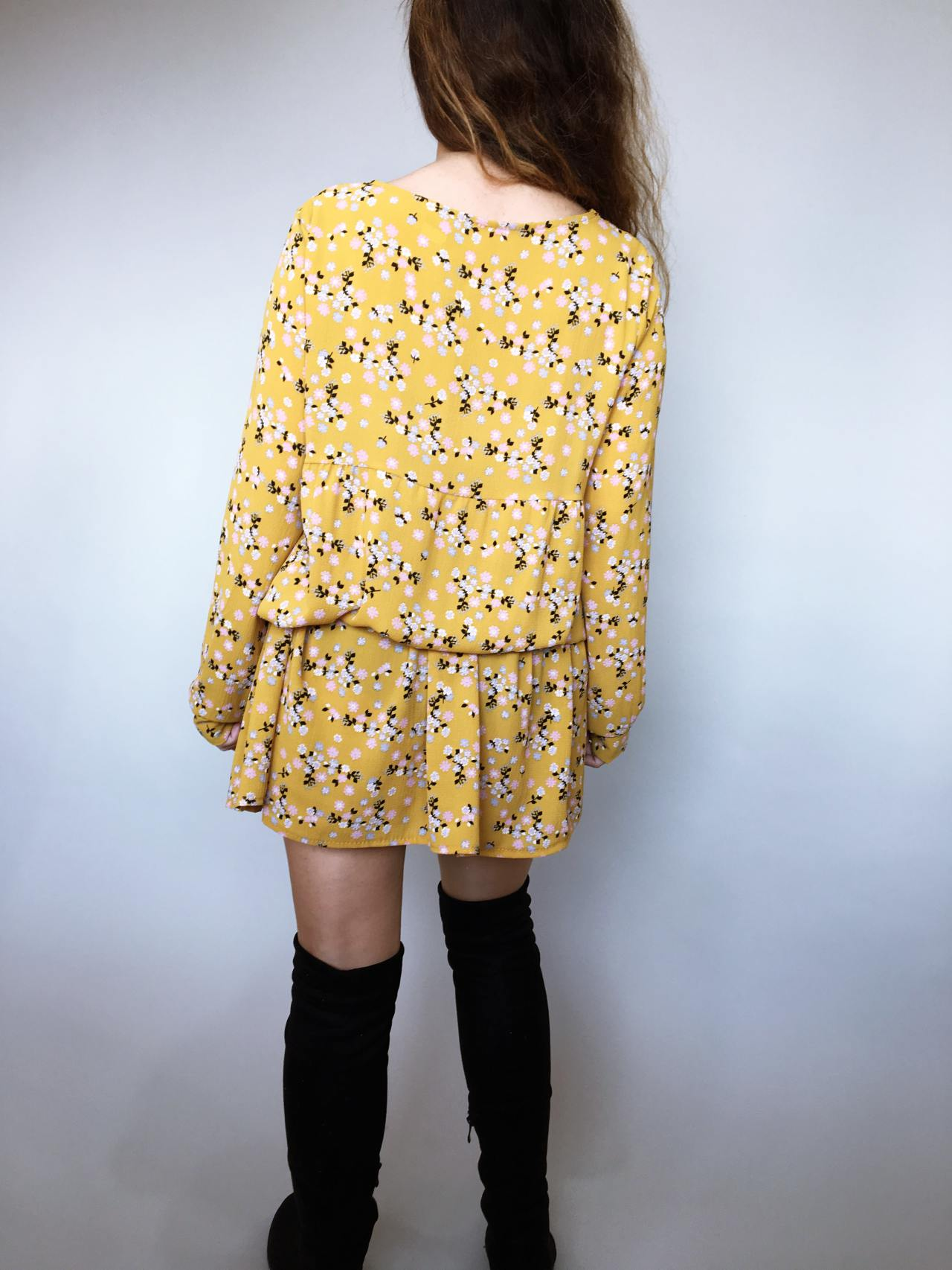 Šaty Lucy žluté 04