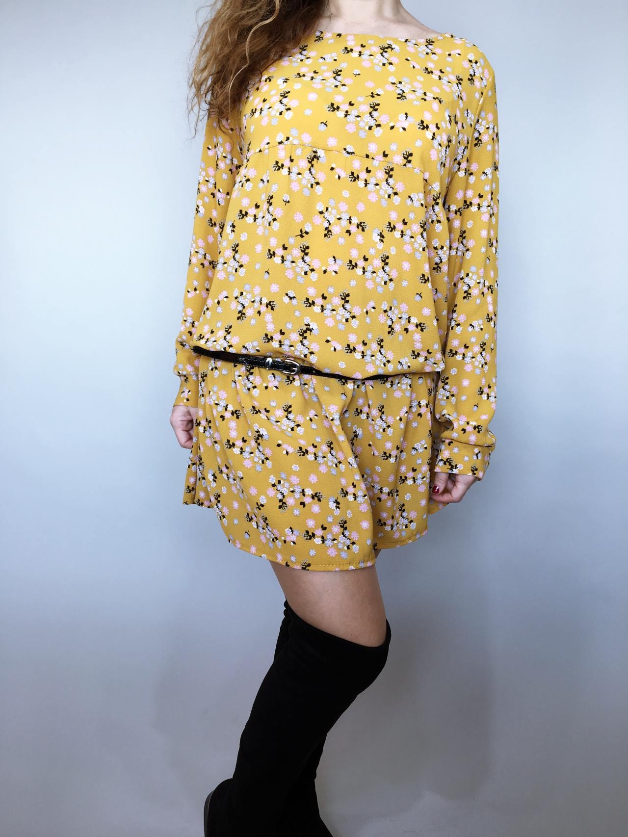 Šaty Lucy žluté 05
