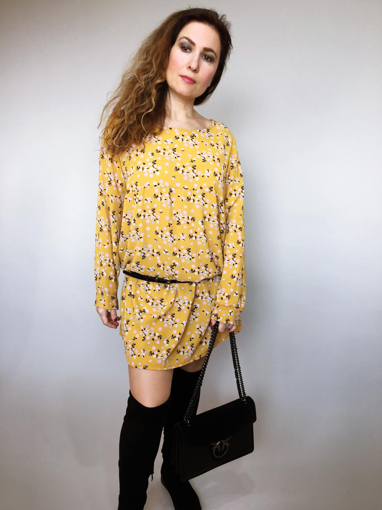 Šaty Lucy žluté 06