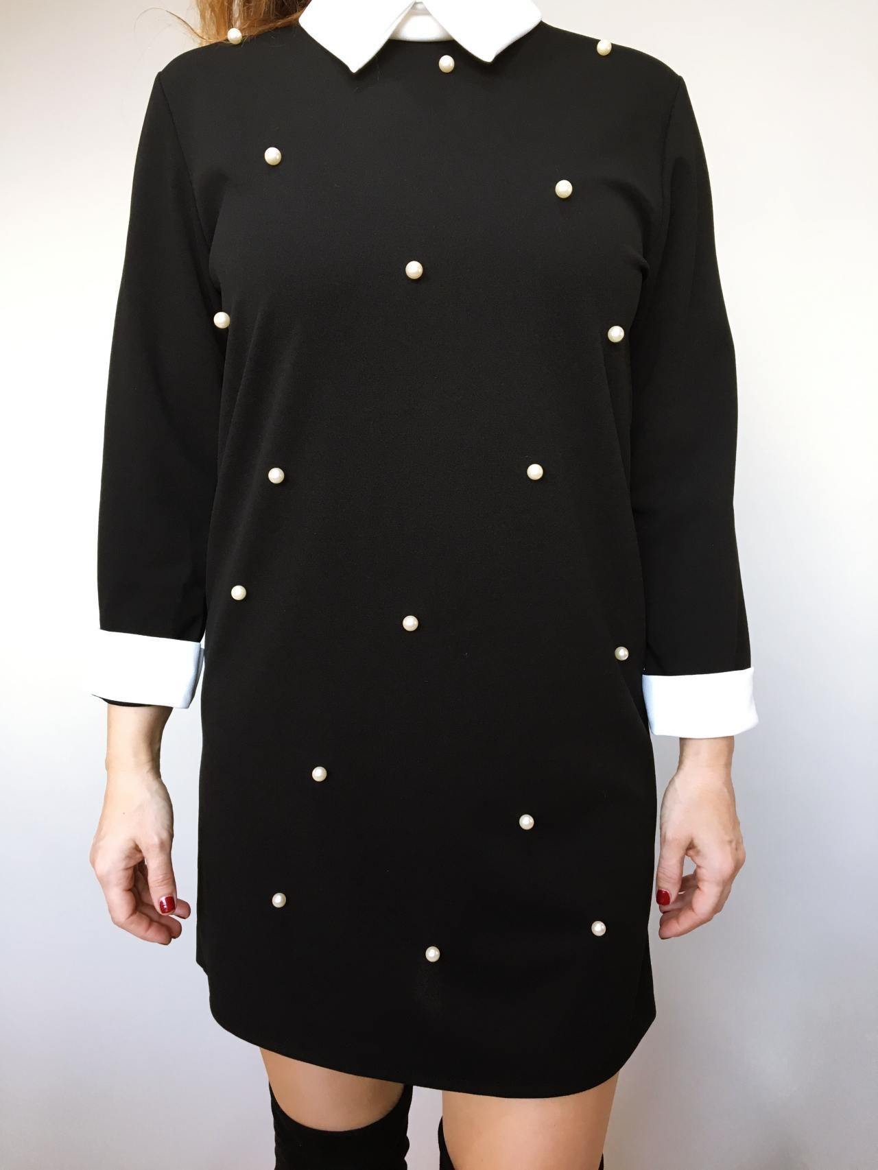 Šaty s perličkami 03