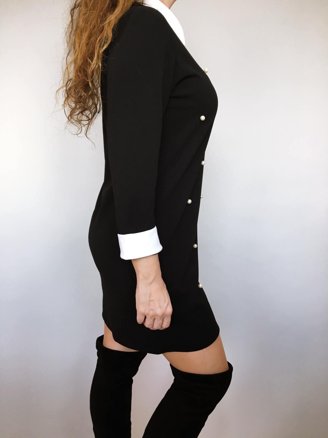 Šaty s perličkami 04