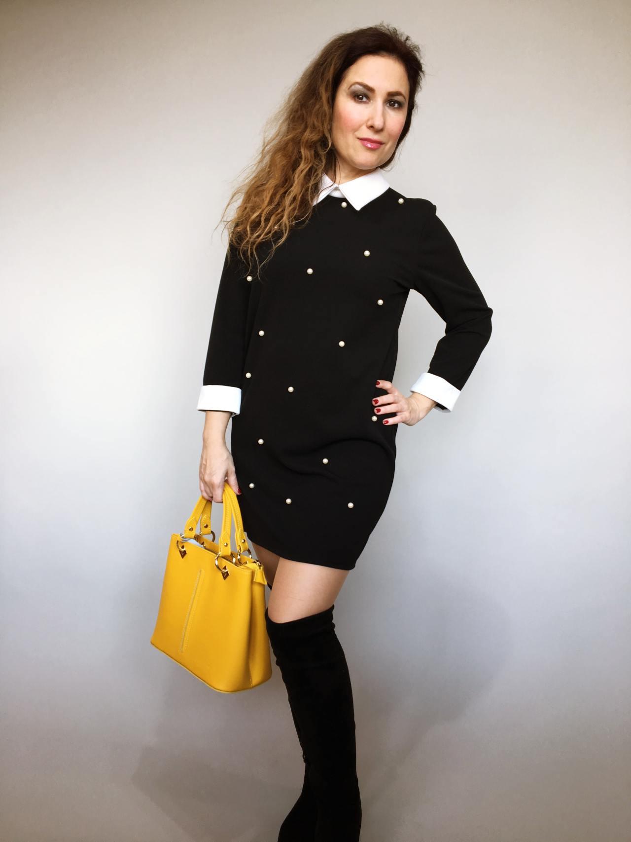 Šaty s perličkami 07