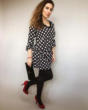 Šaty s puntíky 01