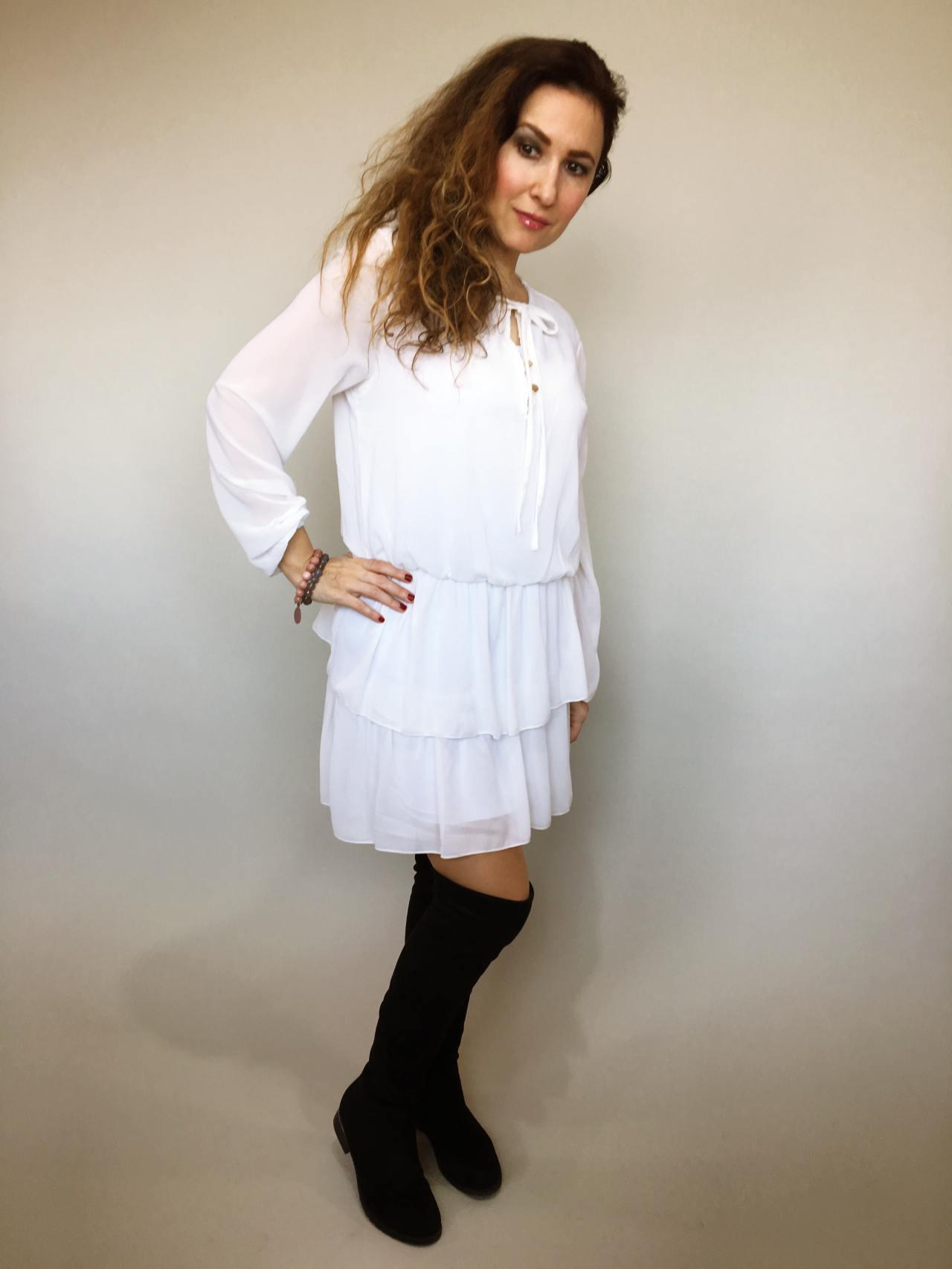 Šaty s volánky 01