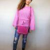 Svetr Layla růžový 05