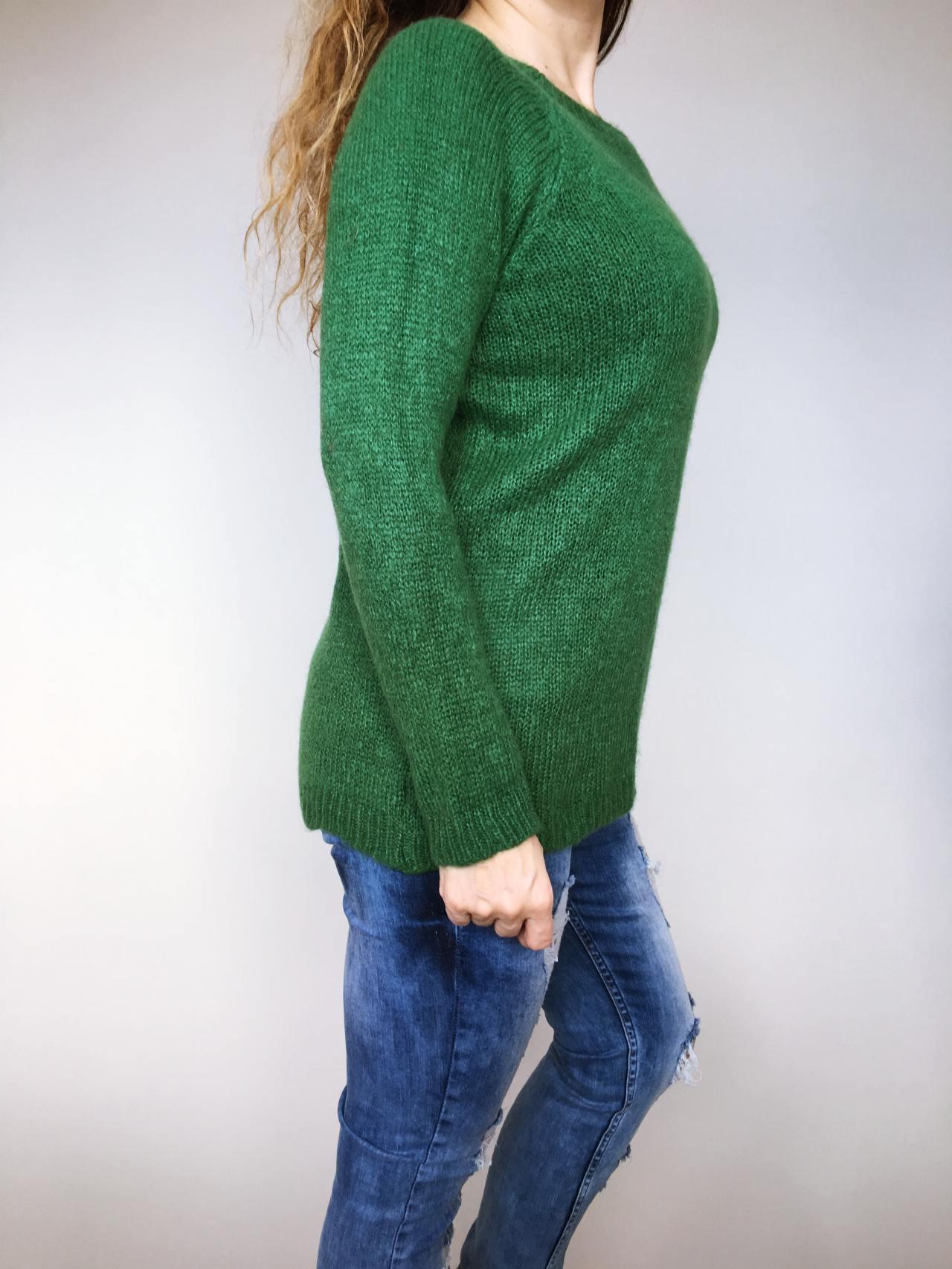 Svetr Molly zelený 03