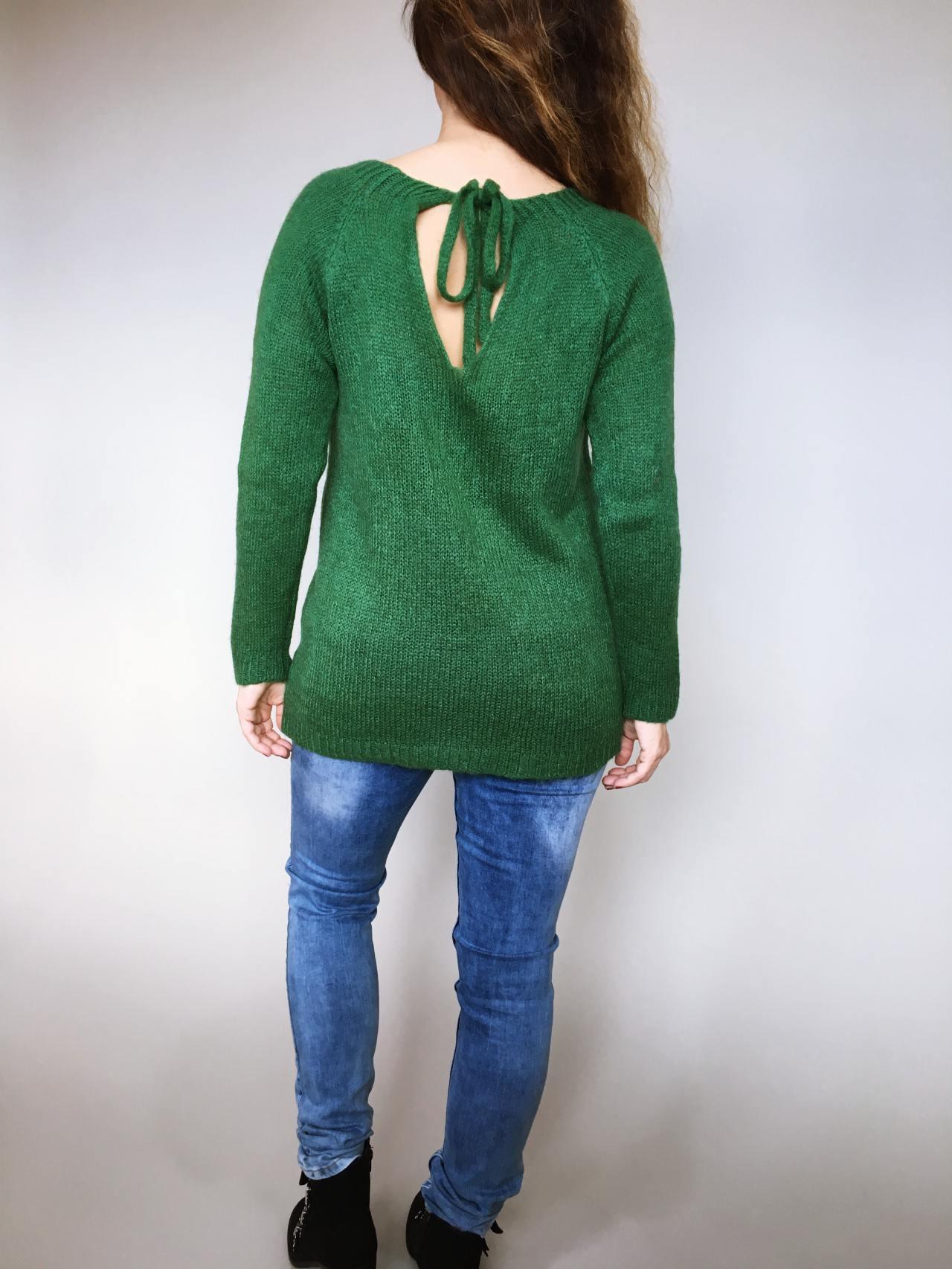 Svetr Molly zelený 04