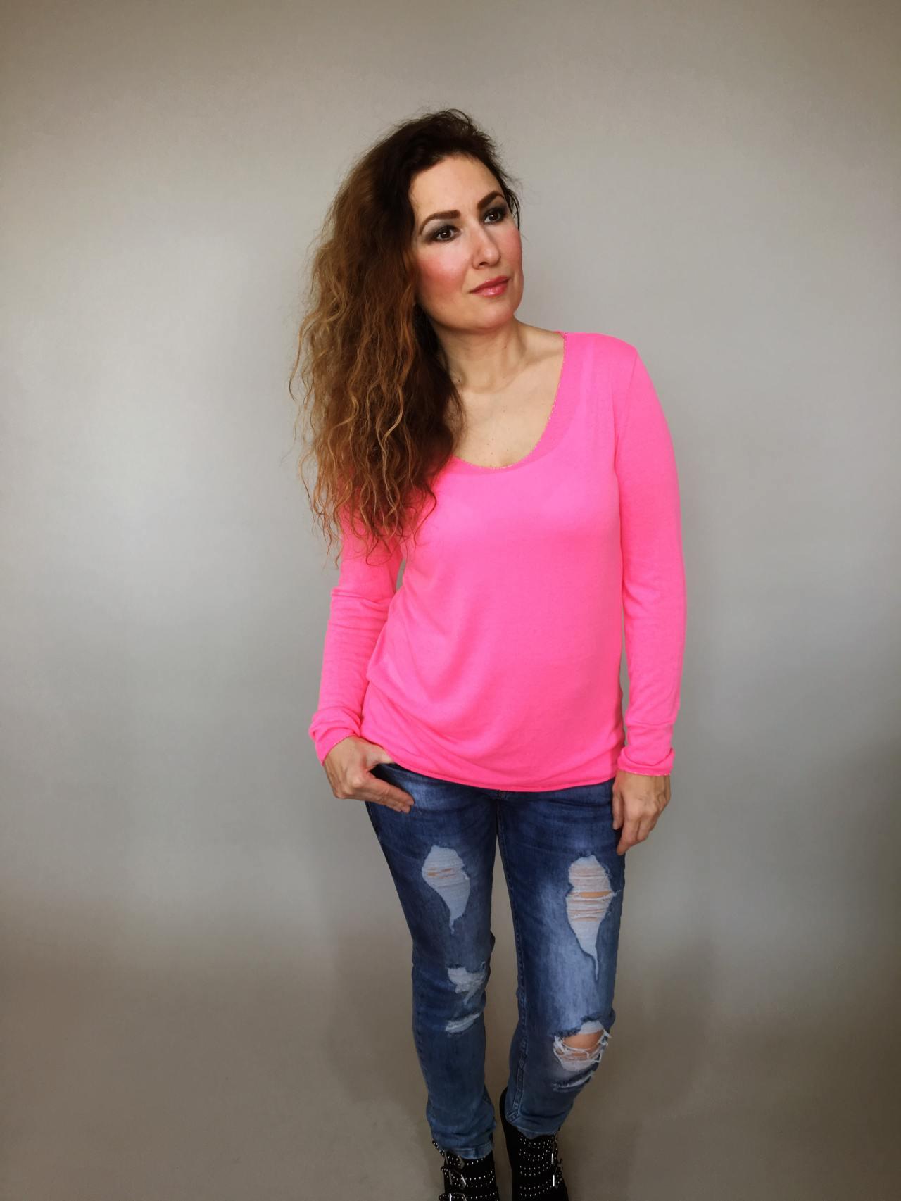 Tričko Basic růžové 01