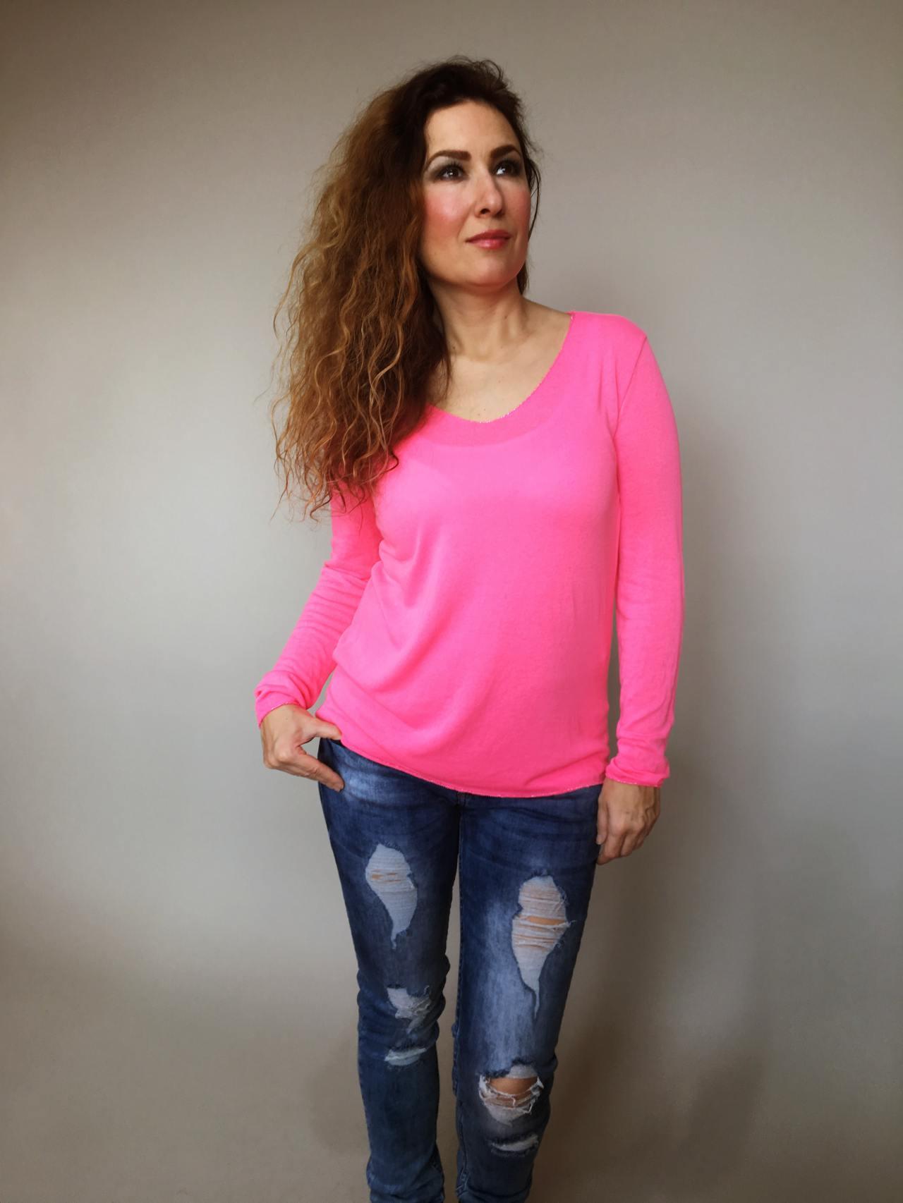 Tričko Basic růžové 02