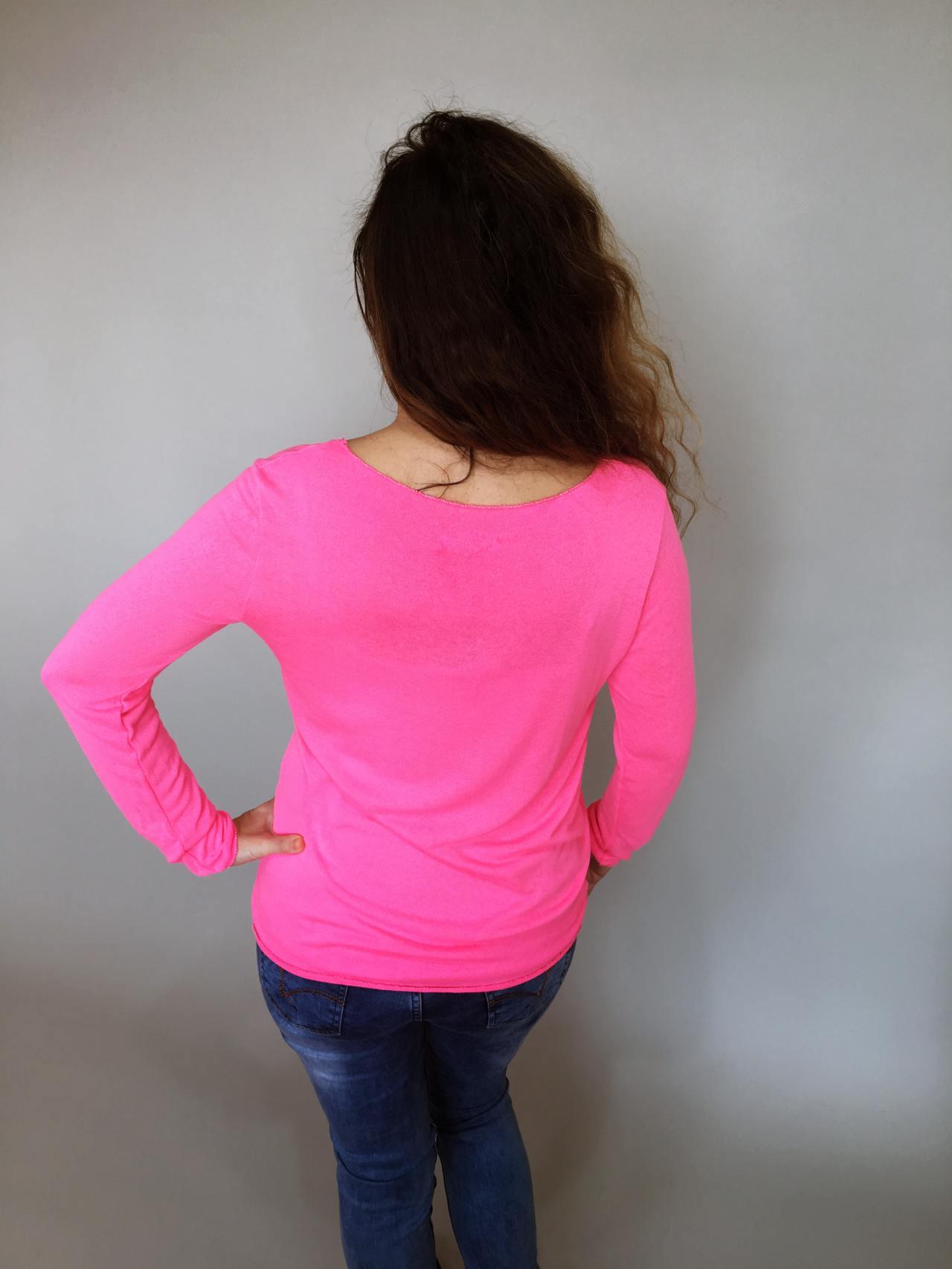 Tričko Basic růžové 04