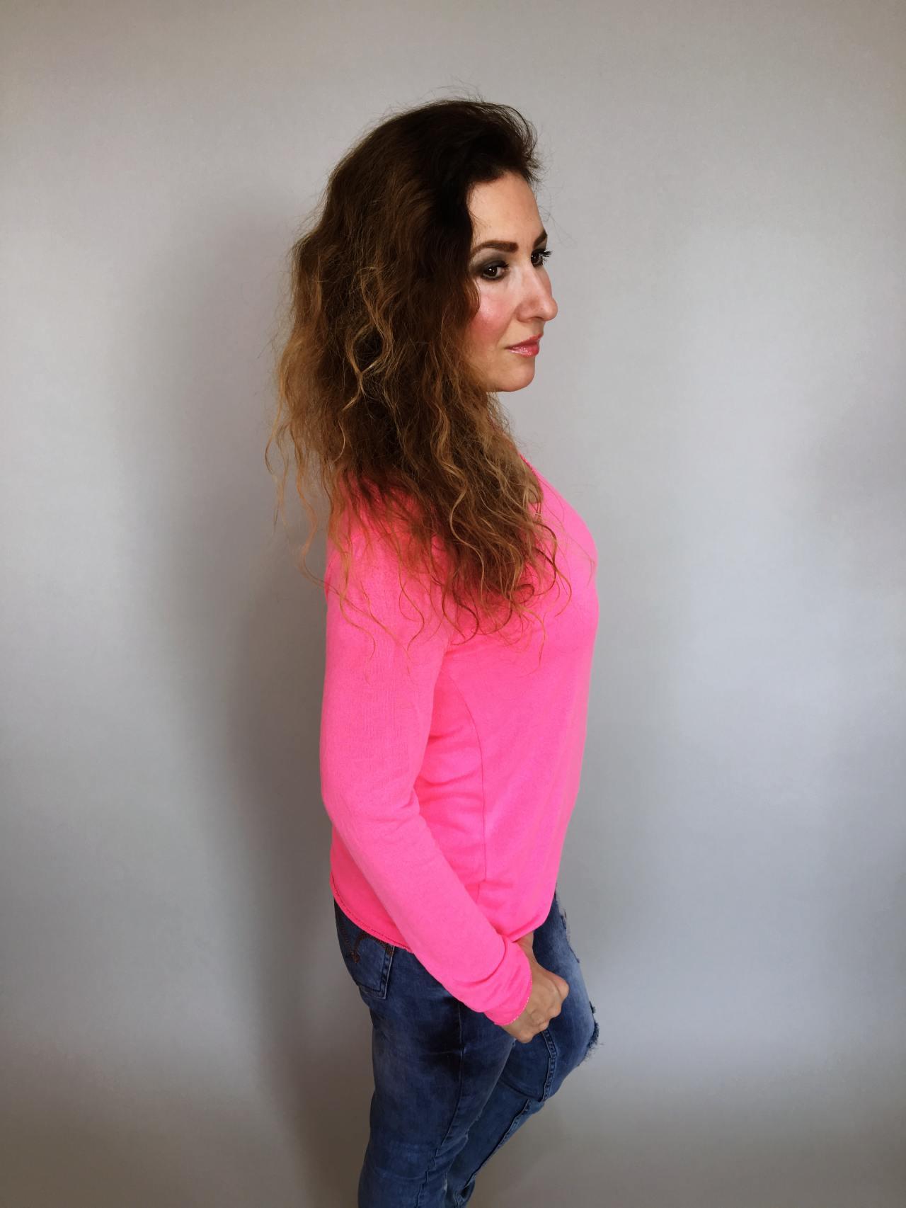 Tričko Basic růžové 05