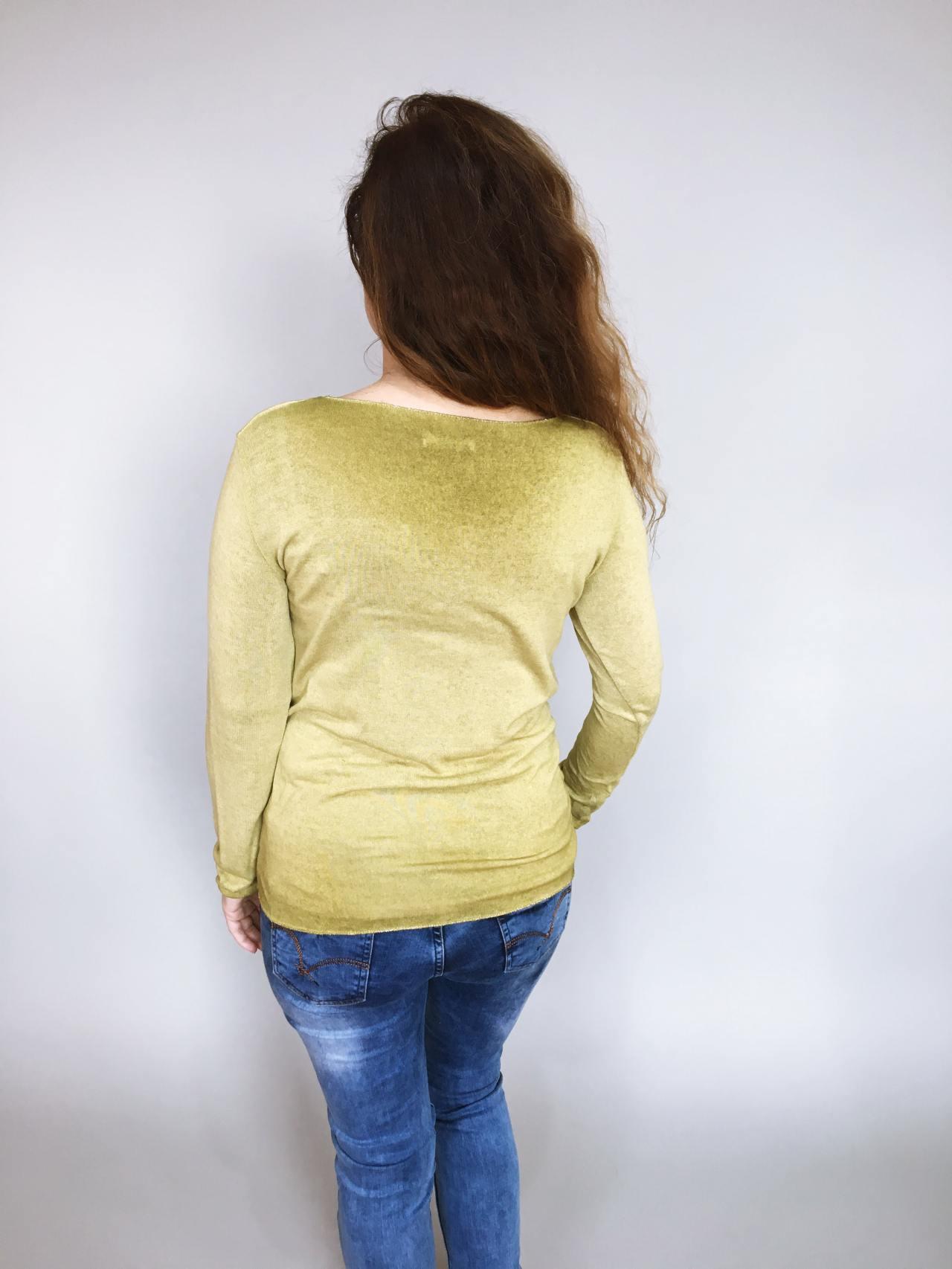 Tričko Basic zelené 03