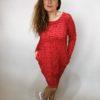 Tunika Love červená 01