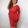Tunika Love červená 02