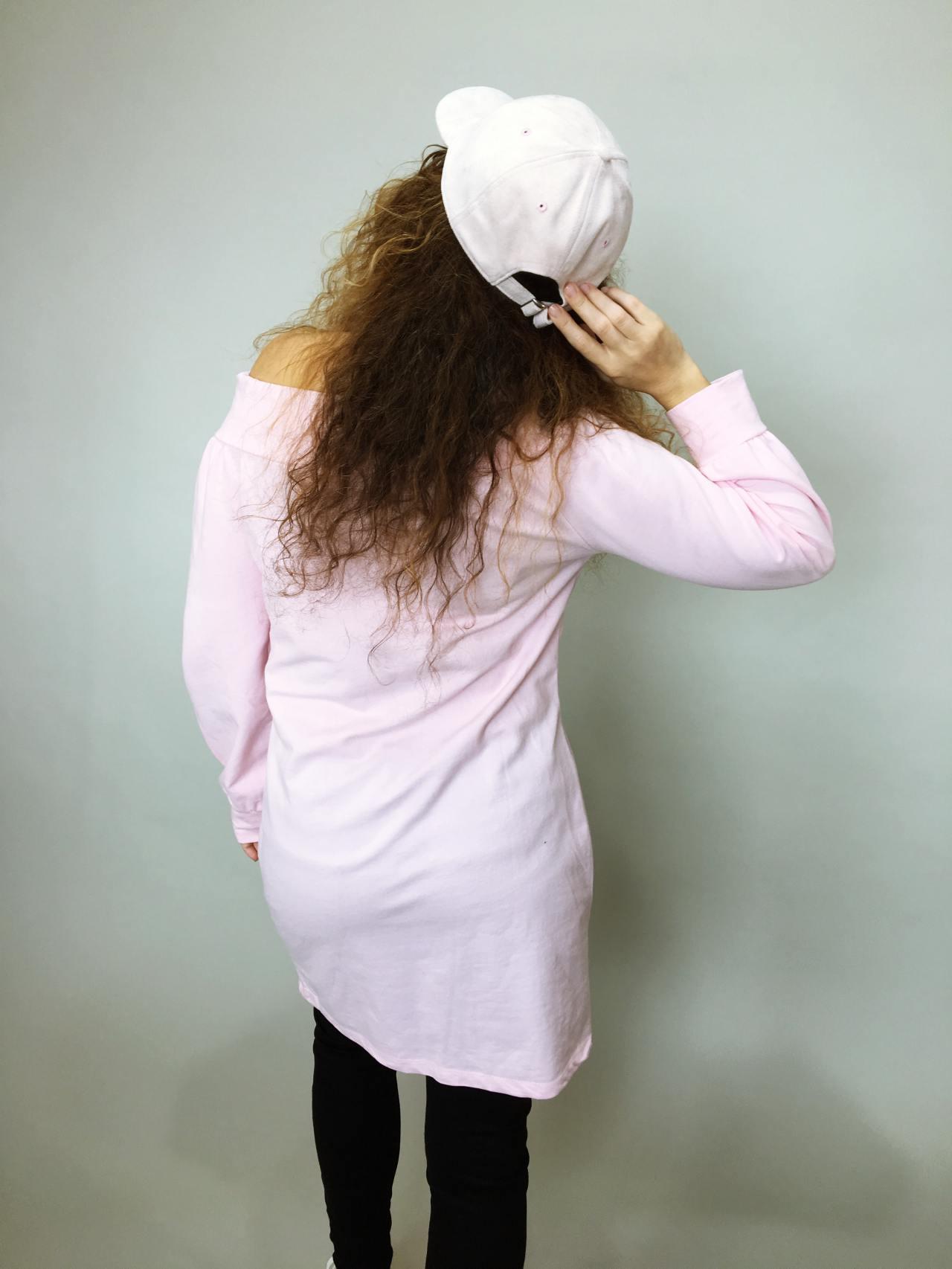 Tunika Pearls růžová 04