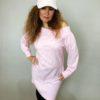 Tunika Pearls růžová 05