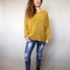 Žlutý svetr Merlin 01