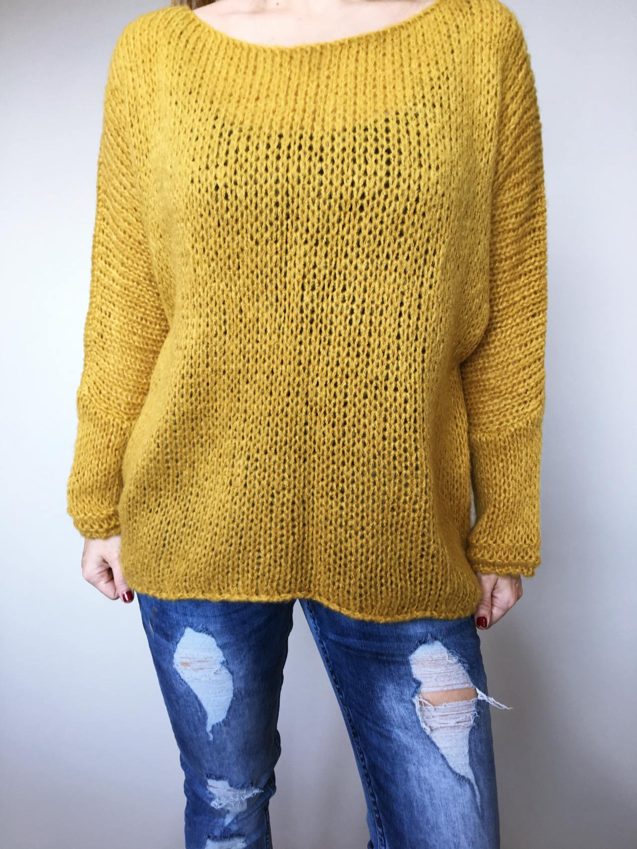 Žlutý svetr Merlin 02