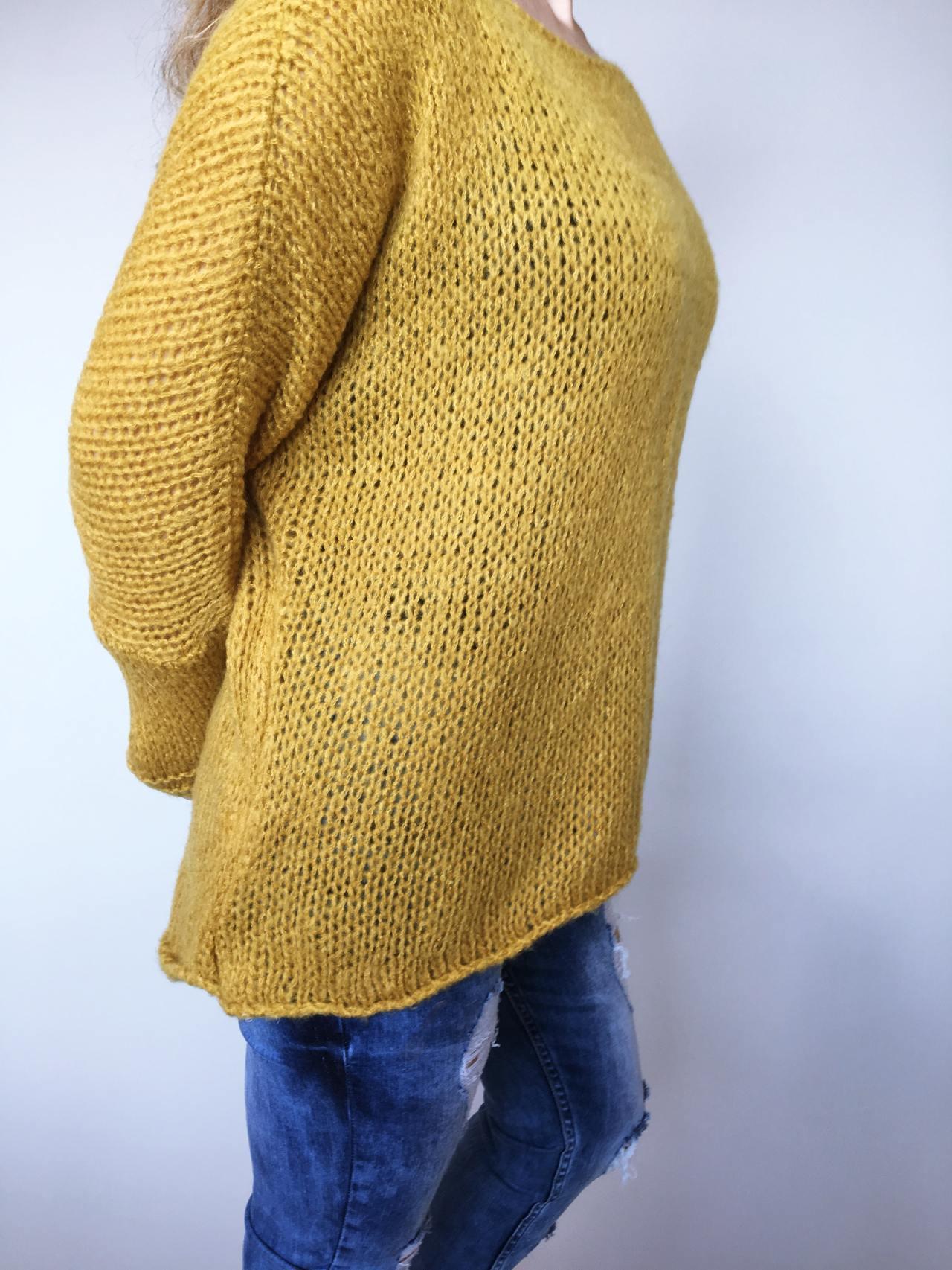 Žlutý svetr Merlin 03