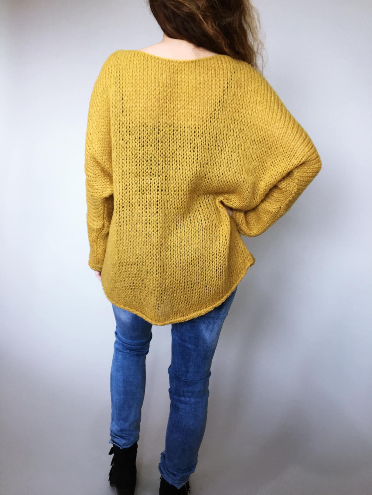 Žlutý svetr Merlin 04