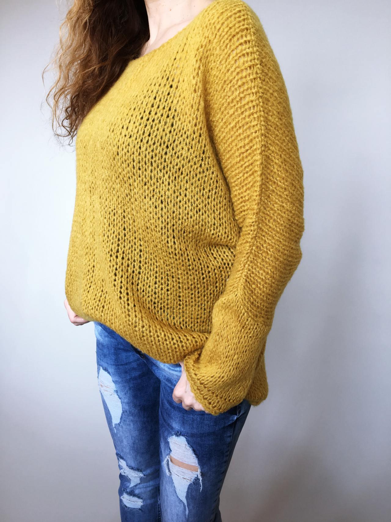 Žlutý svetr Merlin 06
