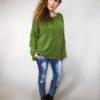 Zelený svetr Merlin 01
