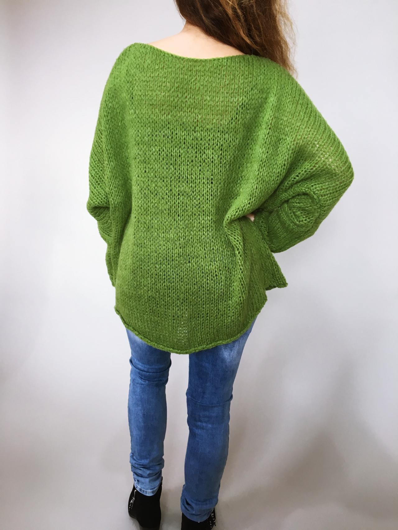 Zelený svetr Merlin 04