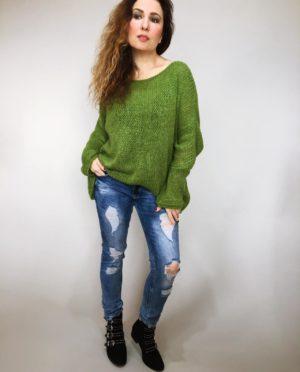 Zelený svetr Merlin 05