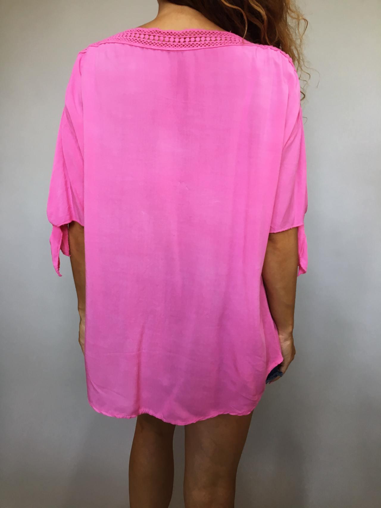Halenka Pink Summer růžová 03