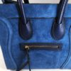 Kožená kabelka Candy modrá 02