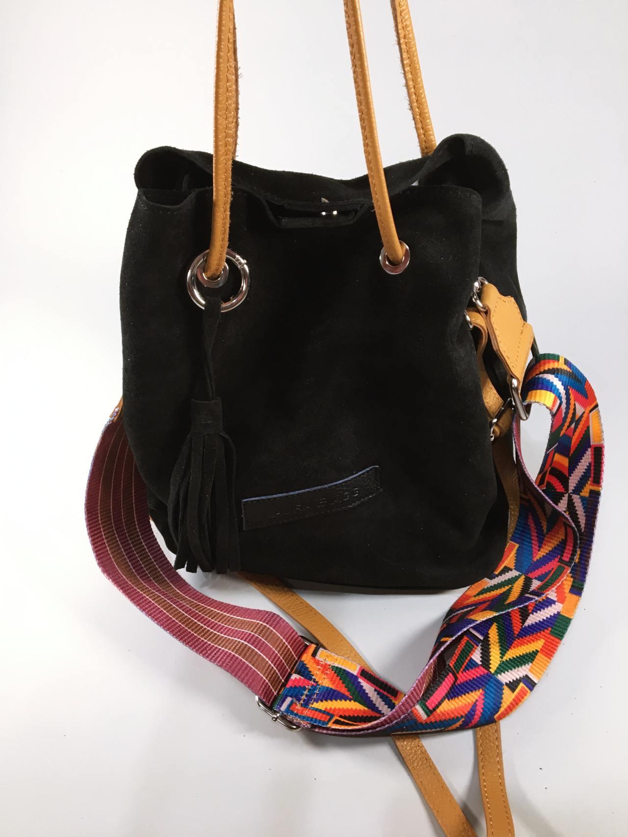 Kožená kabelka Tarra černá 02