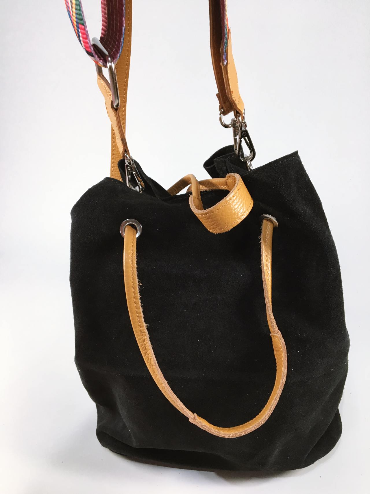 Kožená kabelka Tarra černá 03