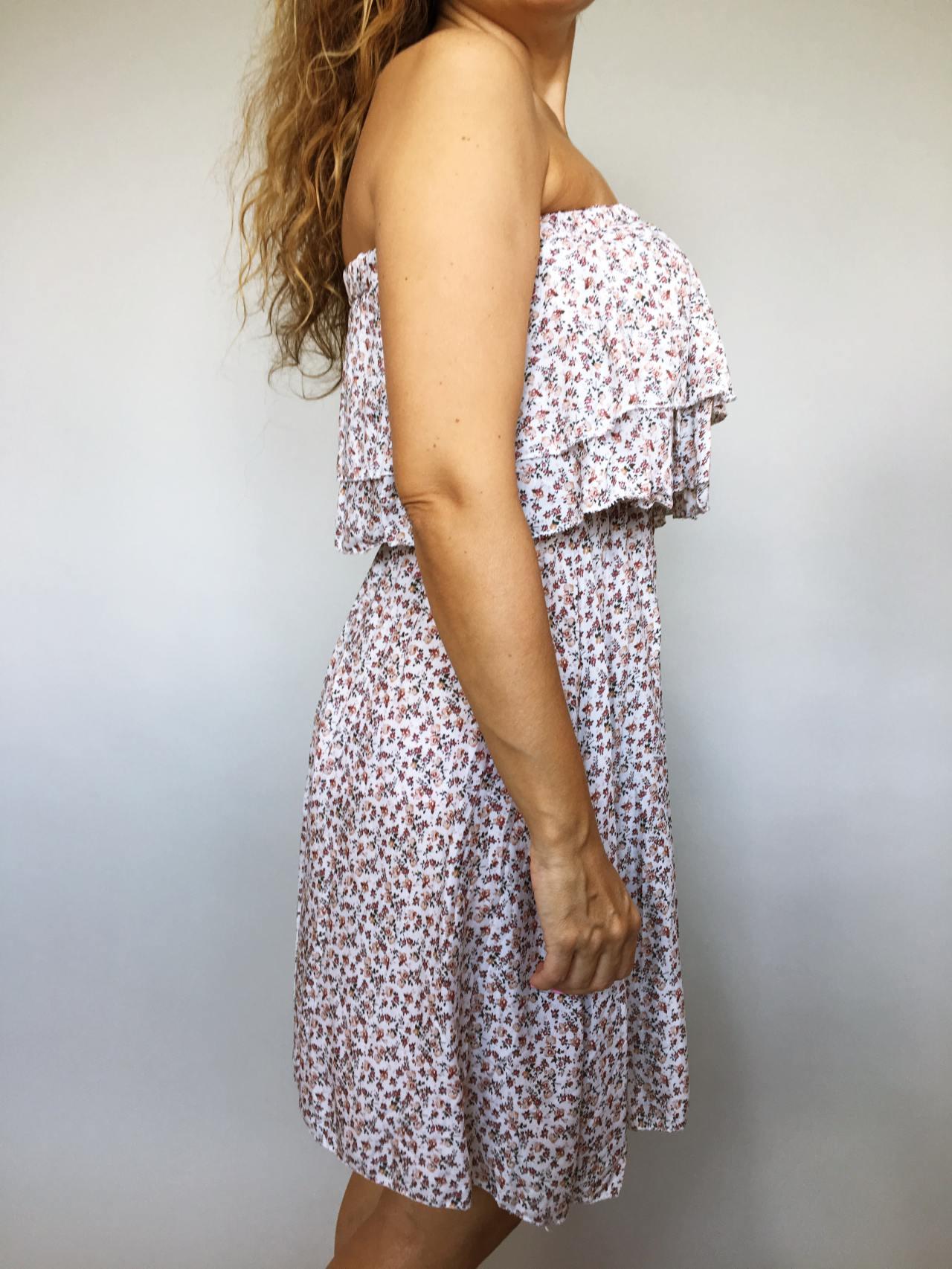 Šaty Bibie béžové 03