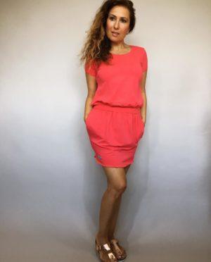 Šaty Carry červené 01