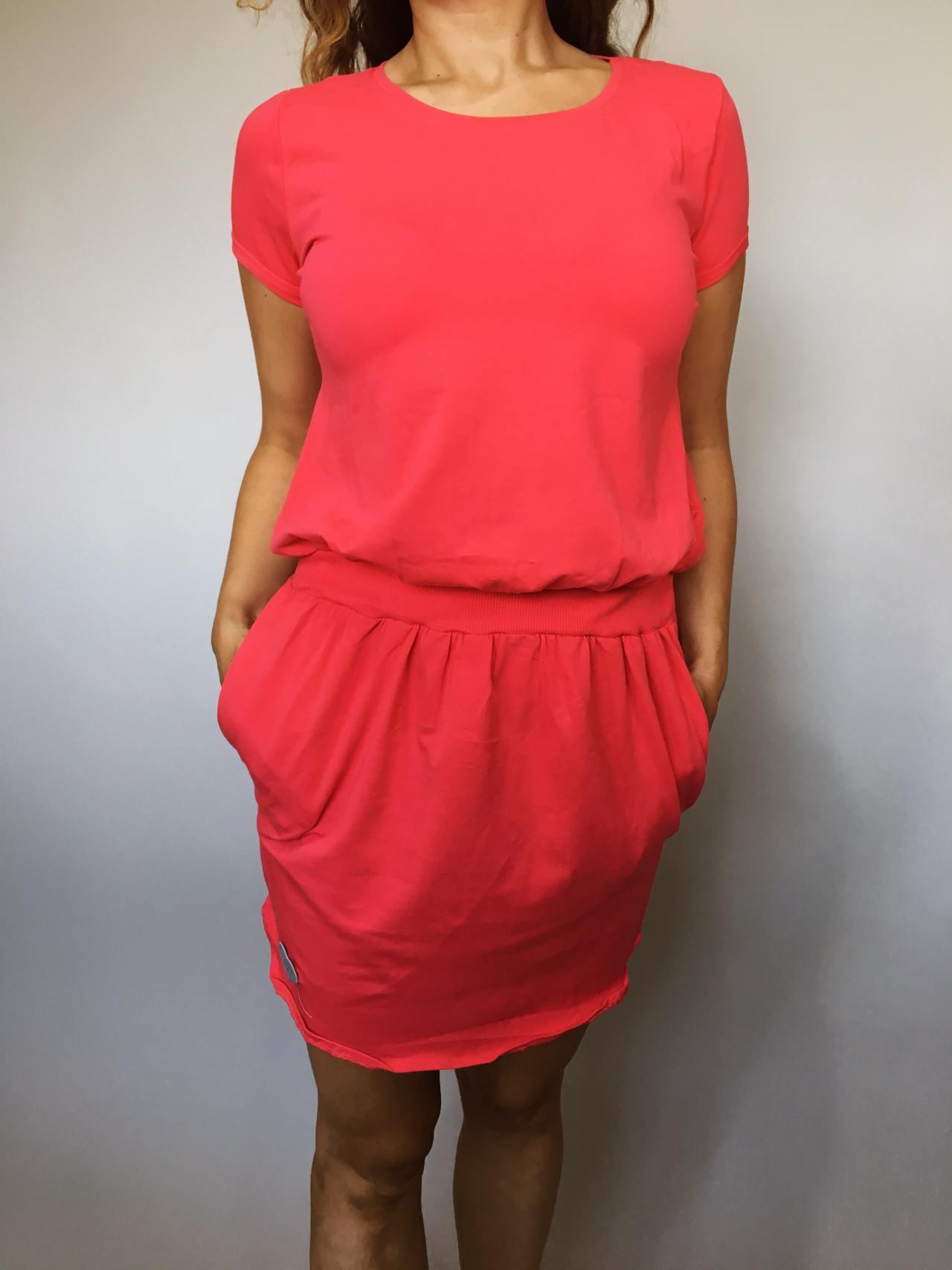 Šaty Carry červené 02