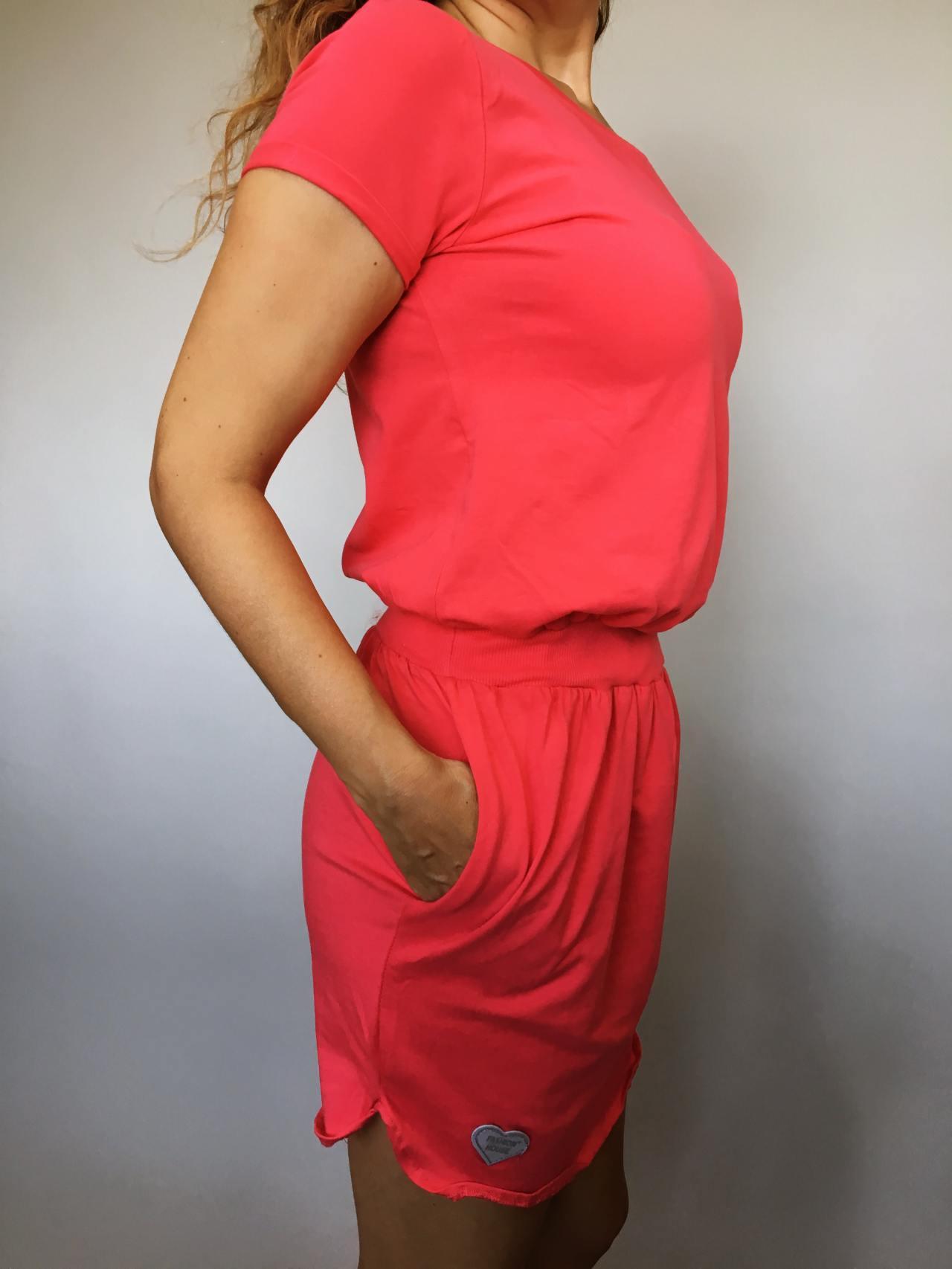 Šaty Carry červené 03