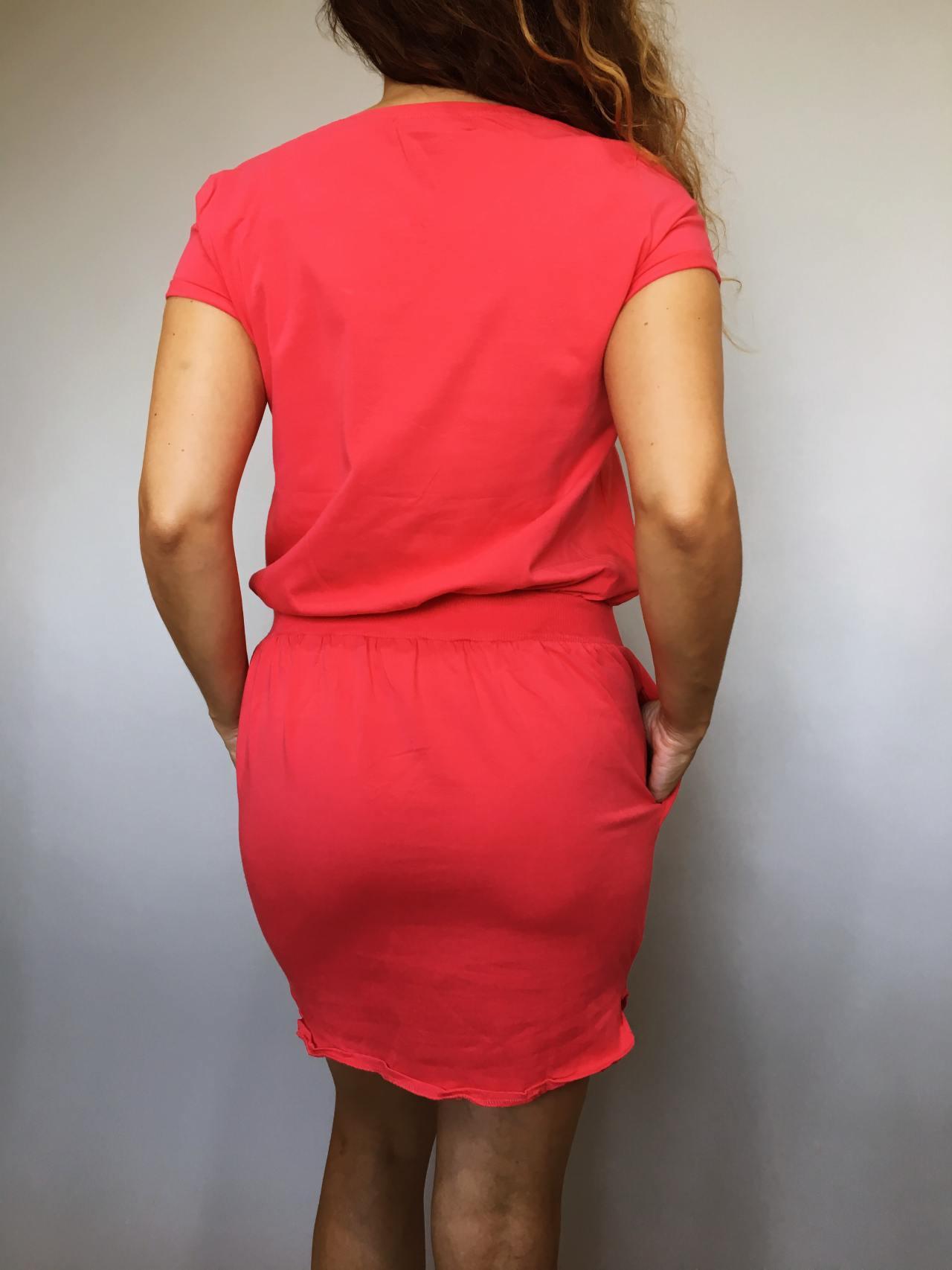 Šaty Carry červené 04