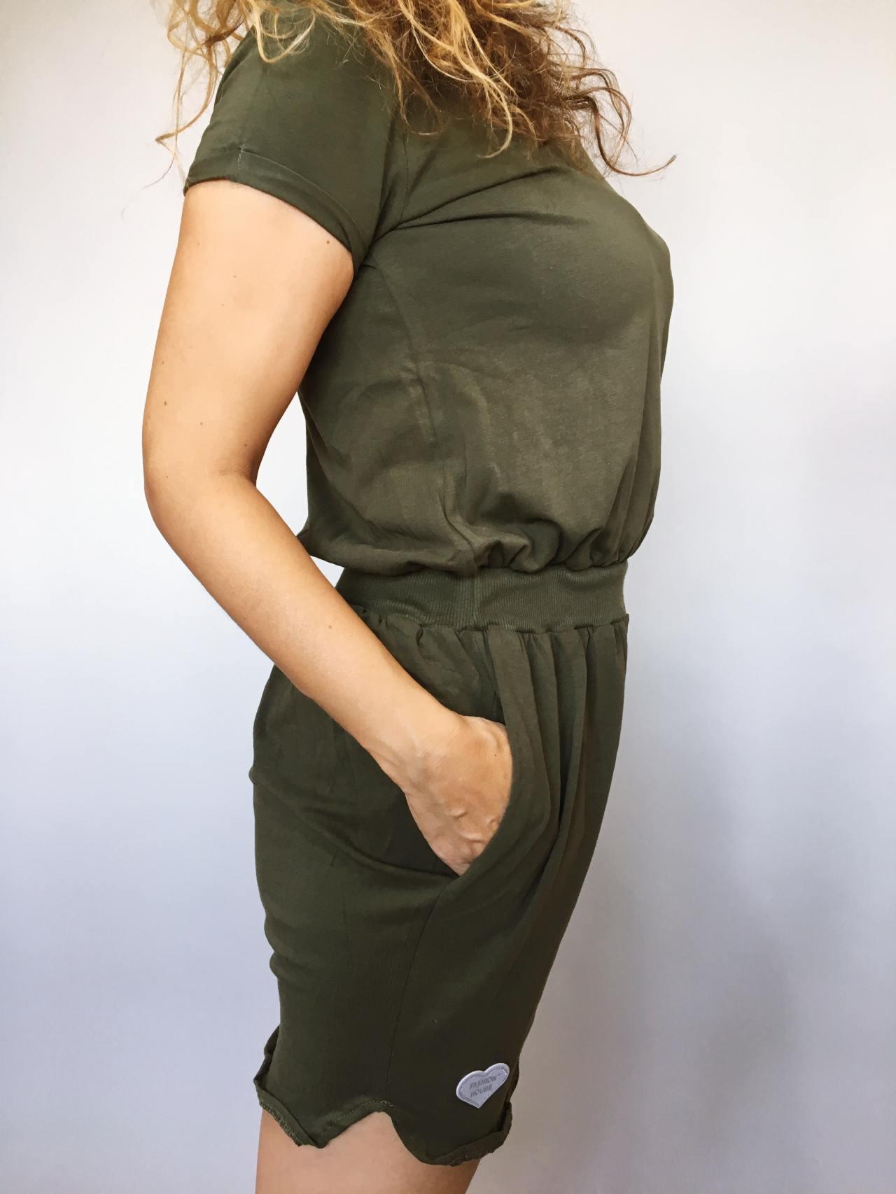 Šaty Carry khaki 03