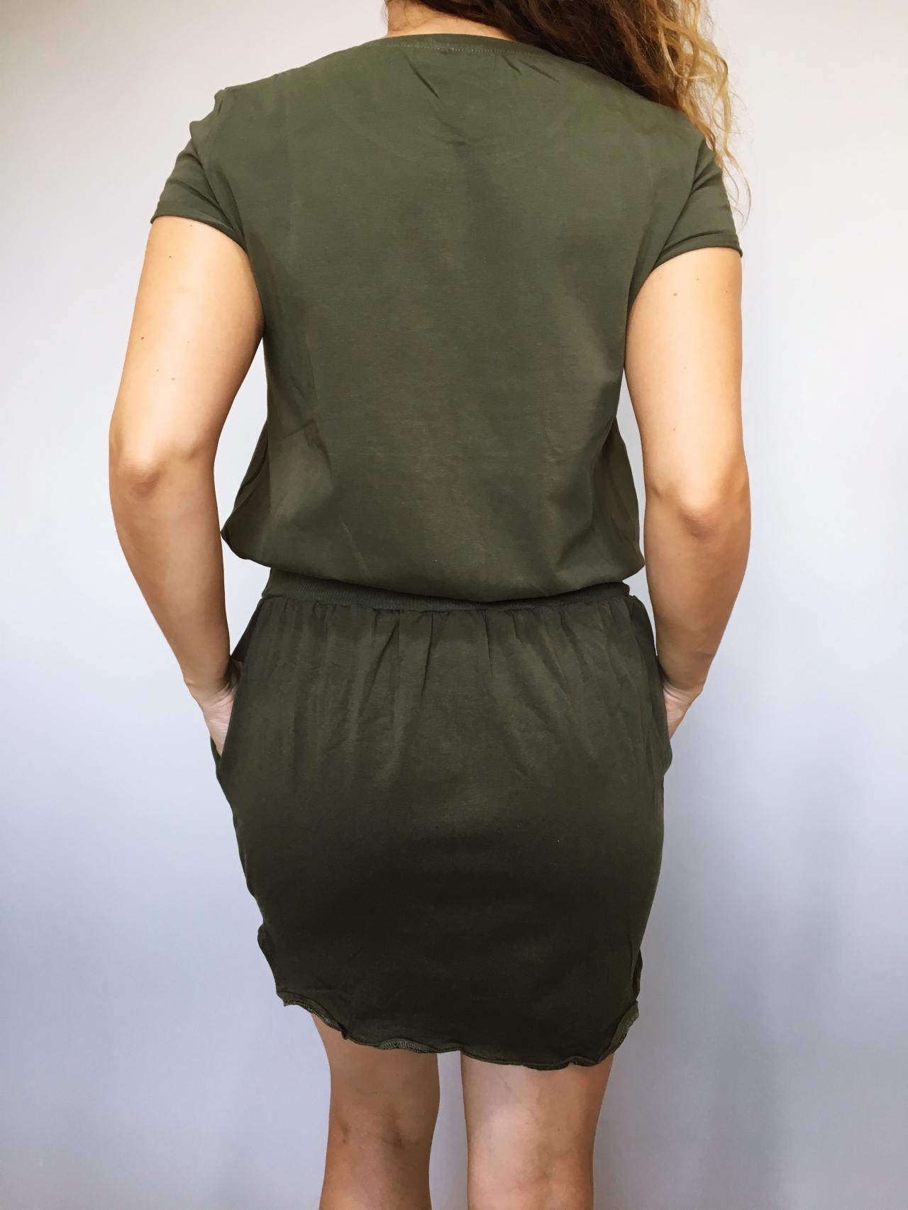 Šaty Carry khaki 04