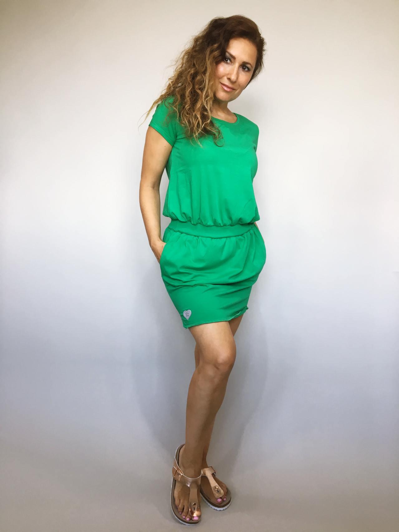 Šaty Carry zelené 01