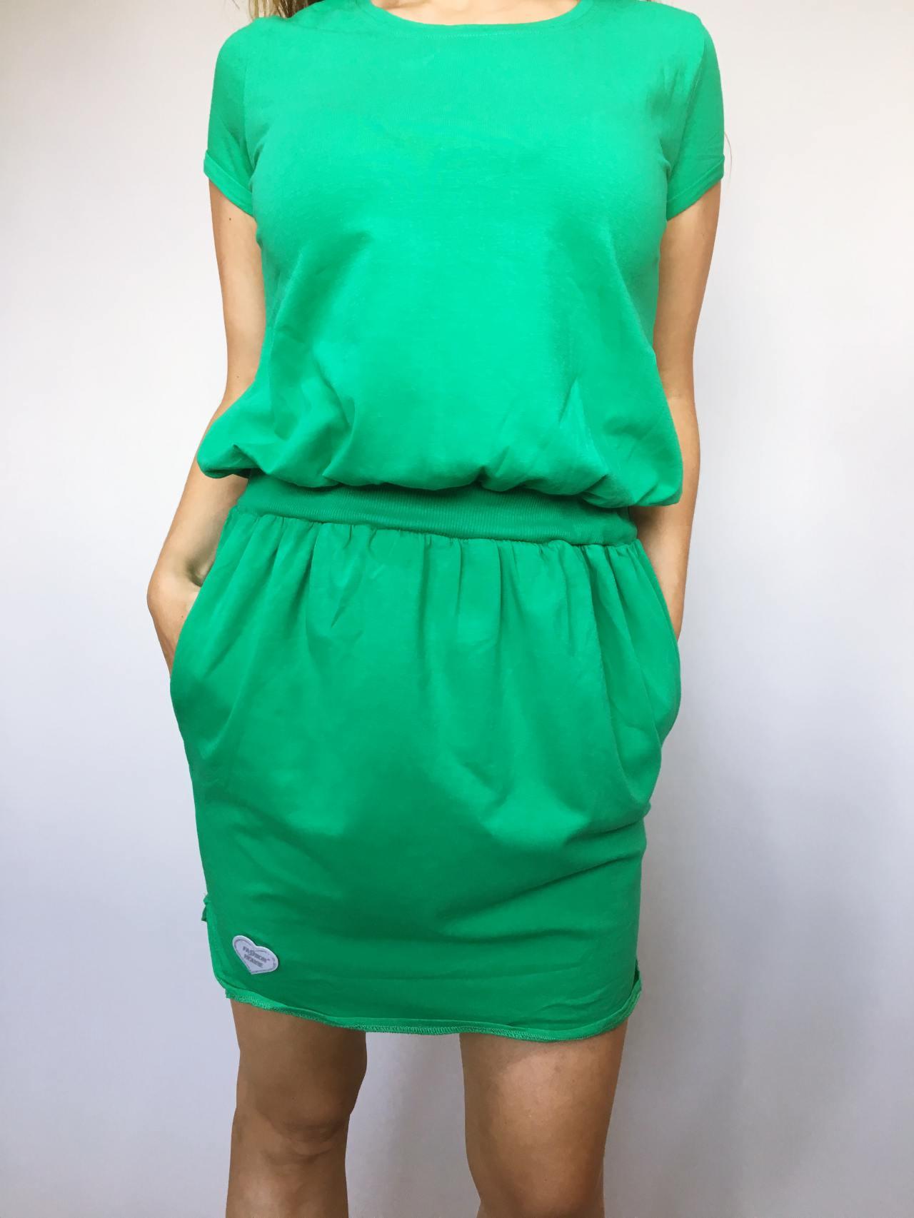 Šaty Carry zelené 02