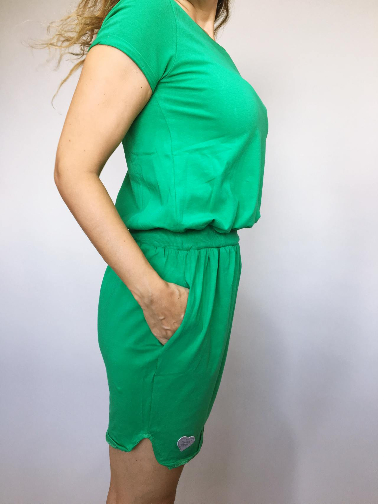 Šaty Carry zelené 03