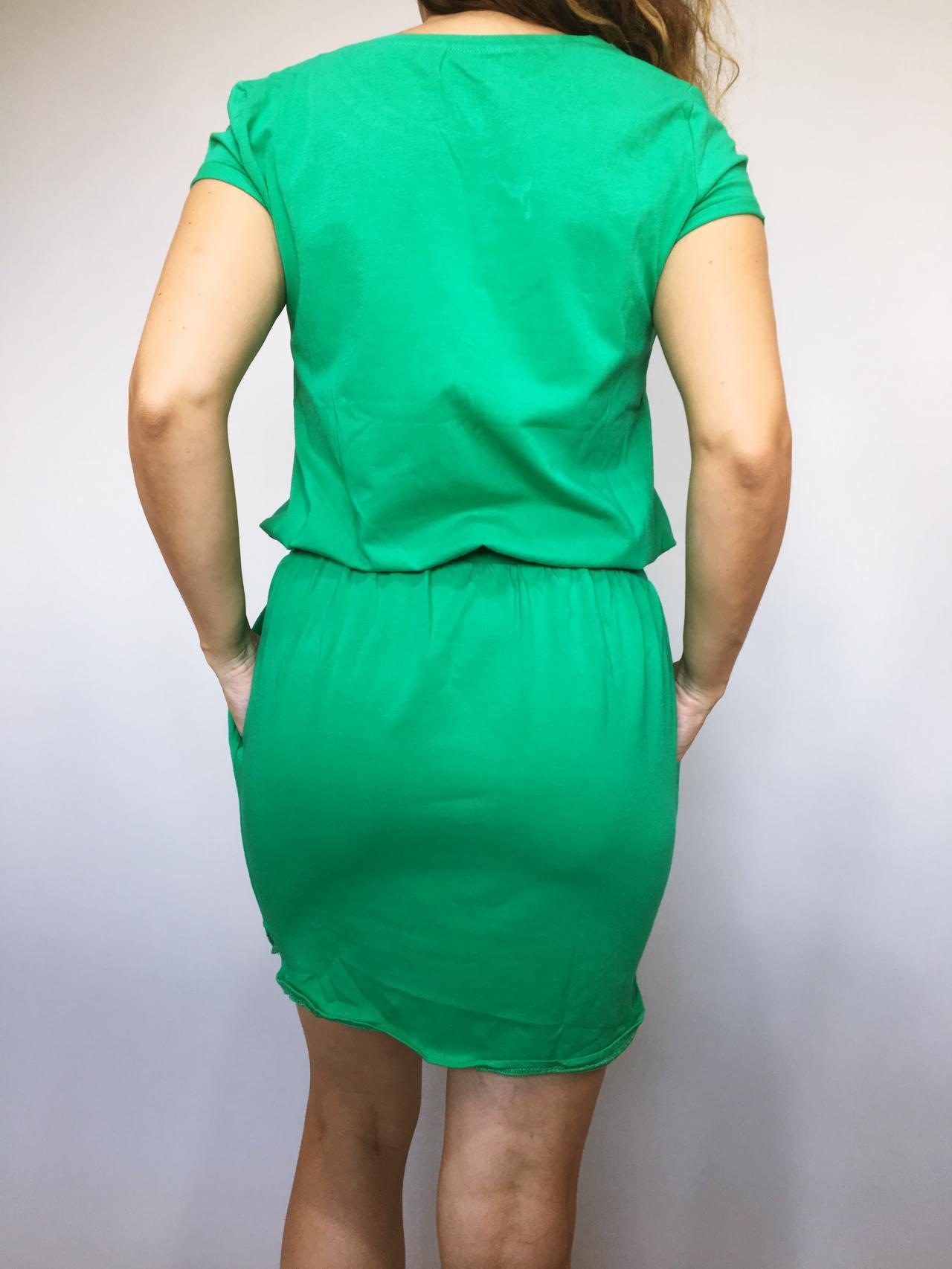 Šaty Carry zelené 04