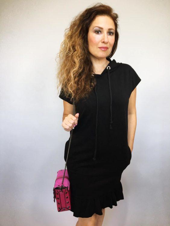 Šaty Conny černé 01